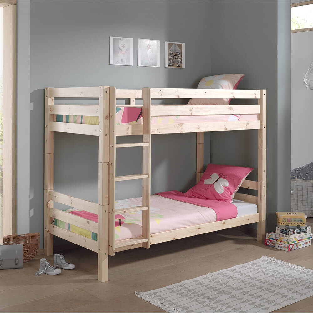 Pino stapelbed hout